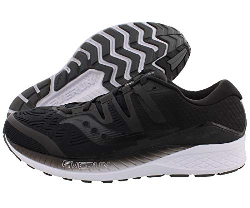 Saucony Ride ISO Wide Women 8 Black