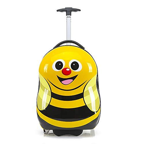 NZNDONE Valigia Trolley da Viaggio per Bambini Valigia Trolley Universale per Bambini Valigia Trolley da 16 Pollici