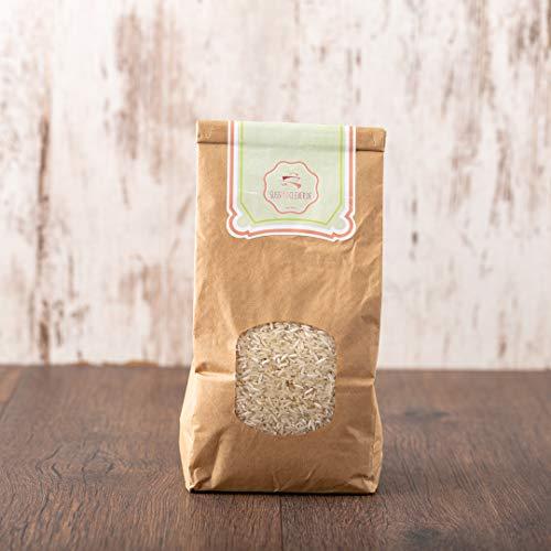 süssundclever.de® Bio Langkornreis | weiß | 2 kg (2 x 1 kg) | unbehandelt | plastikfrei und ökologisch-nachhaltig abgepackt