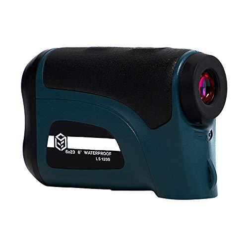 Golf Rangefinder Hunting 800M / 1200M Telescoop Laser Afstandsmeter Golf Digital Monocular Range Finder Hoek Meten,1200m blue