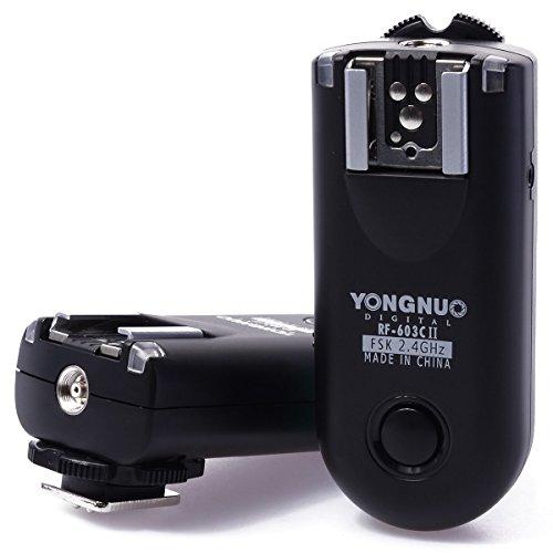 Yongnuo RF-603 C1 Kabelloser Blitzauslöser für Pentax K20D / K200D / K10D / K100D / LF238