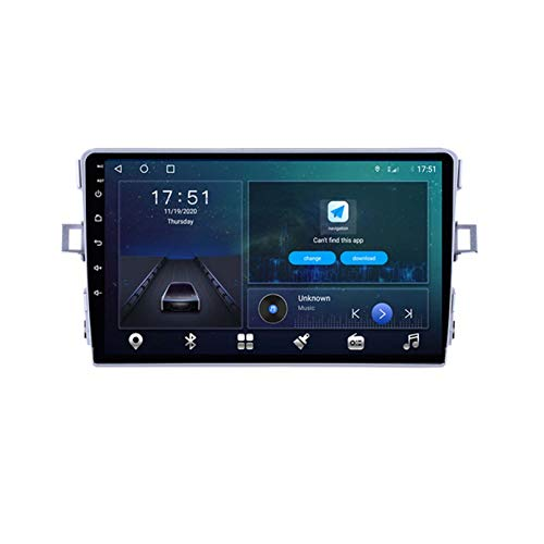 Android 10.0 Reproductor De Radio De Automóvil para Toyota Avensis Verso 2010-2016 Auto GPS DSP Carplay 4G WiFi OBD Serero 9'2 DIN DVD(Size:Cuatro nucleos,Color:WiFi:4GB+64GB)