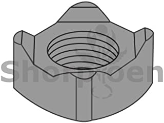 Steel QUANTITY: 5000 Plain M5-0.8 Hex Weld Nuts DIN929 3 Projections /& Center Pilot Ring Metric