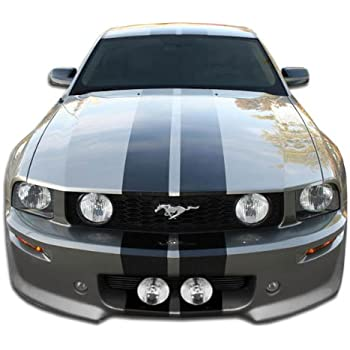 1 Piece Body Kit Brightt Duraflex ED-OLM-182 CVX Front Bumper Cover Compatible With Mustang 2010-2012