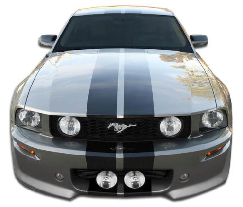 Brightt Duraflex ED-UBF-068 Eleanor Front Bumper Cover - 1 Piece Body Kit - Compatible With Mustang 2005-2009