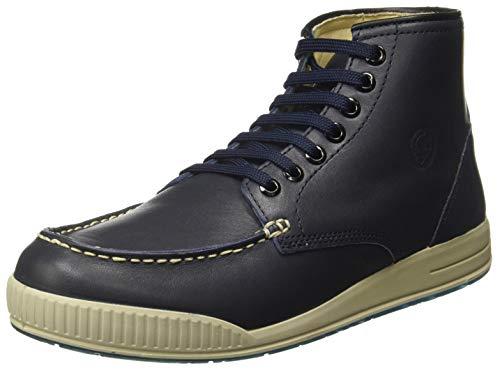 Woodland Men's Navy Trekking Boots - 8(OGB 2704117)