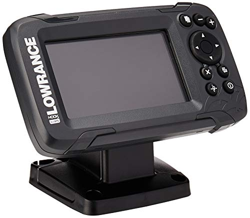 Lowrance Men's 000-14014-001 Hook-2 4X Fish Finder Bullet Skimmer Tranducer and...