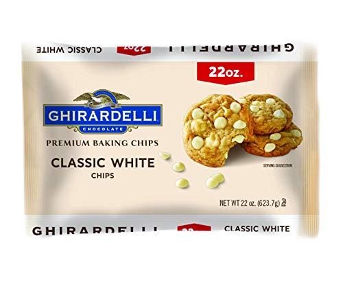 Ghirardelli Classic White Premium Baking Chips, 22 oz. Bag