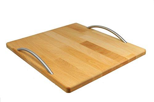 StreamBrush® Premium - Gleitbrett Holz-Gleiter aus Massivholz für den Thermomix TM5 / TM6 / TM31 Buche EV