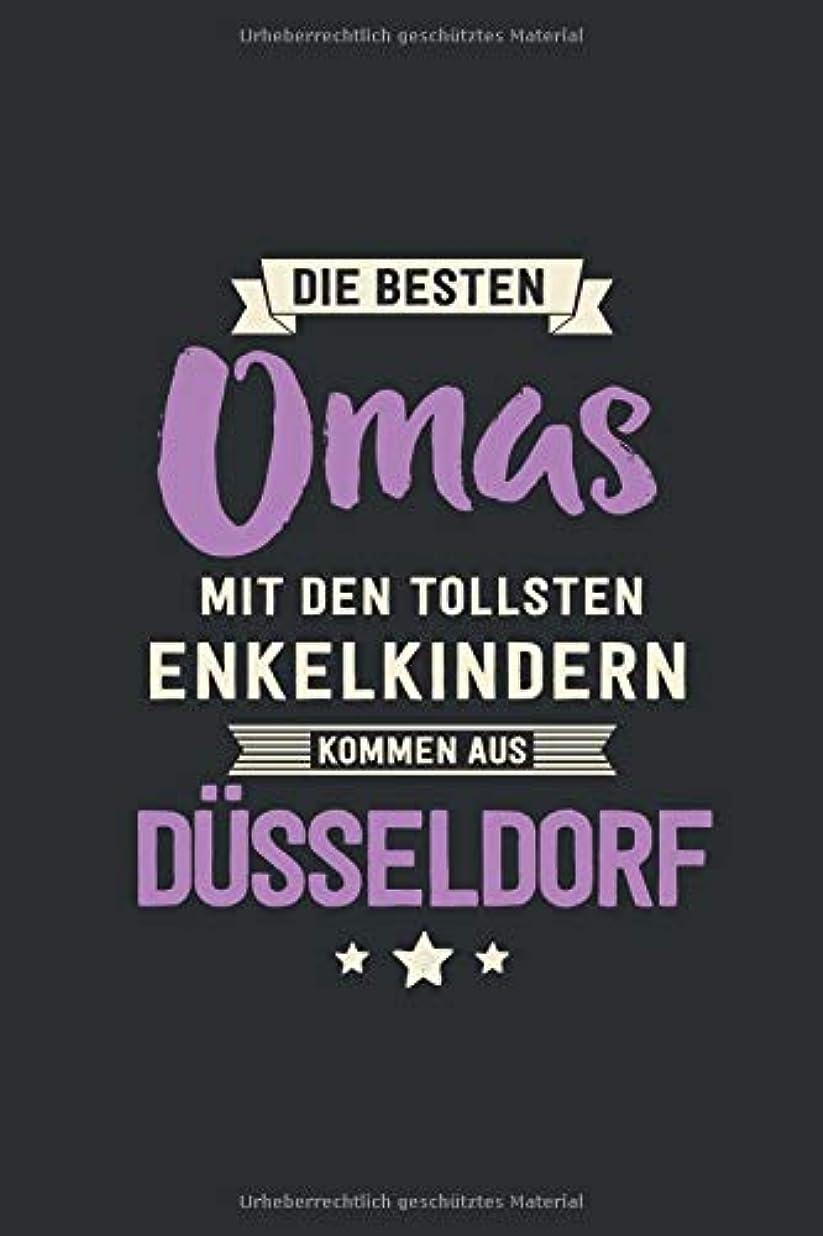 バイアス自殺電信Die Besten Omas: kommen aus Duesseldorf - Notizbuch liniert mit 100 Seiten