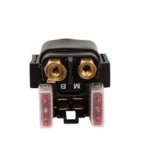 WDGXZM Motorradstarter-Magnetrelais,Für Yamaha Raptor 350 YFM350 04-10/660 YFM660 01-05 Rhino 450 YXR450 2006 / YXR660 04-06