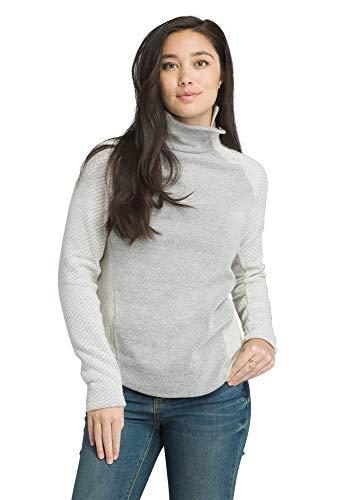 prAna Women's Brandie Sweater, Bone Heather, Small