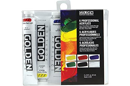 Golden Heavy Body Acrylic Introductory Set (0000074-0)