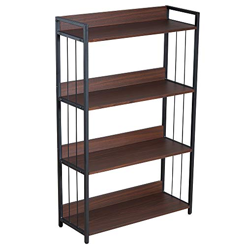 (45% OFF Coupon) 4 Tier Bookcase $51.14
