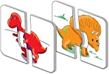 The Learning Journey: My First Match It - Dinosaurs - 2 Year Old Toys, Puzzles for Toddlers, Toddler Puzzle, Educational Toys for 2 Year Old - 15 Self-Correcting Matching Puzzles - Award Winning Toys