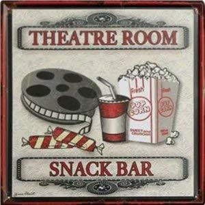 Hotpaint Movie Indefinitely Theater Decor Bars Ornament sale Snack