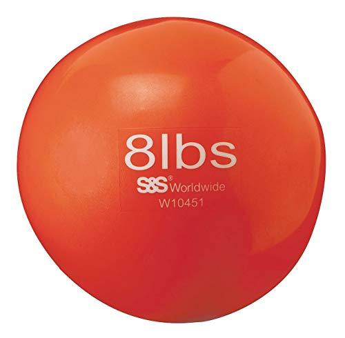 Spectrum No-Bounce Medicine Ball, 8-lb, 6.5'