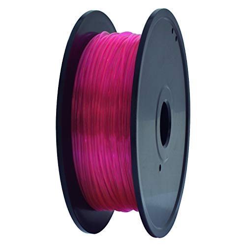 GEEETECH TPU Flexible filament 1.75mm Rose, Impresora 3D Filament 400g 1 Spool