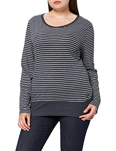 Alife and Kickin Damen CocoAK T-Shirt, Marine, XL
