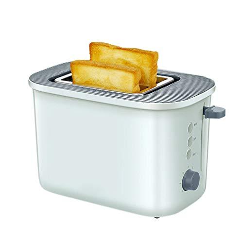 Grille-pain automatique à 2 tranches Grille-pain à 2 tranches 680W Réglage en 7 étapes, Annuler le réchauffage par dégivrage Annuler, Boîte à miettes de pain détachable à arrêt automatique