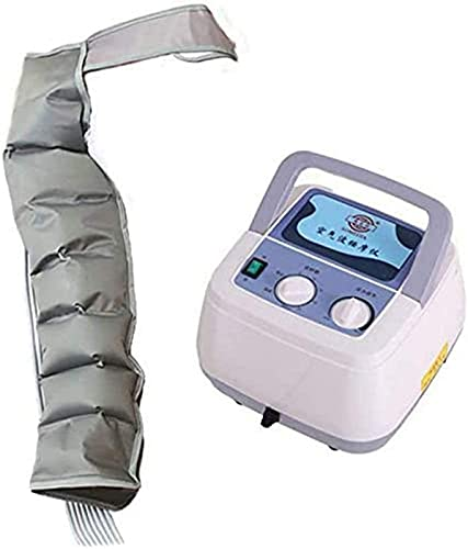 LCJD Máquina masajeadora de compresión de Aire para Cintura, Pierna, Pantorrilla y Brazo Relaja la circulación sanguínea 3 Modos Función de sincronización Rehabilitación Fisioterapia