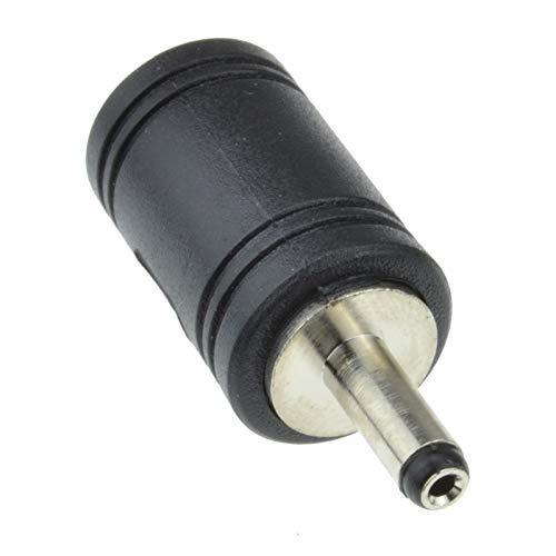 Adaptador de Corriente DC de 5,5mm x 2,5mm a 3,5mm x 1,3mm, Hembra a Macho, convertidor de Potencia coaxial para Equipos de CCTV, Camara de videovigilancia, Luces LED, portatil PC