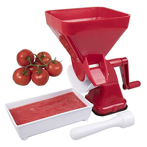 YFGQBCP Juicer Manual de Tomate exprimiendo Salsa de Tomate Juicer Easy Pures- No Suave, Peeling o Deseedenting