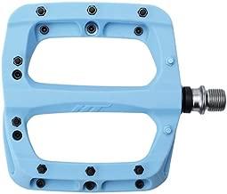 HT PA03A Platform Pedal: 9/16 Sky Blue