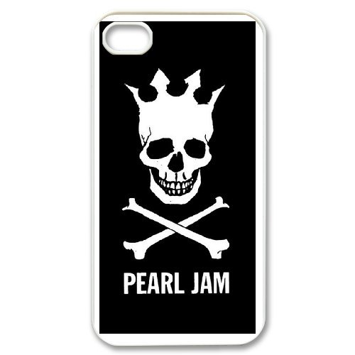 Custom Case Pearl Jam Band For iPhone 4,4S Q2Y5543381