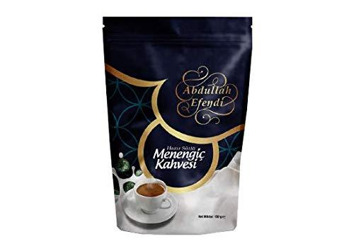 Abdullah Efendi Traditional Coffee Series (Turkish) Menengiç (Pistachio) Coffee 5.3 oz (150gr) سلسلة قهوة عبدالله أفندي التقليدية (تركية) ميننجيش (بالفستق)