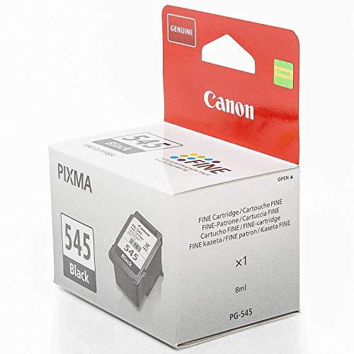 Original Canon 8287B001 / PG-545, für Pixma TS 3151 Premium Drucker-Patrone, Schwarz, 180 Seiten, 8 ml