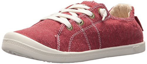 Roxy Damen Bayshore Slip on Shoe Sneaker Turnschuh, rot, 38 EU
