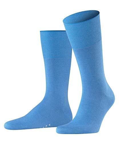 FALKE Airport M So Chaussettes, Opaque, Bleu (Linen 6326), 45-46 Homme