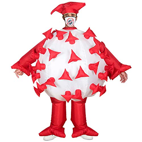 AltSkin Mega Suit Inflatable Costume - Germ Costume