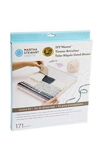Lion Brand Yarn 5002-200 Martha Stewart Crafts DIY Weaver Starter Kit