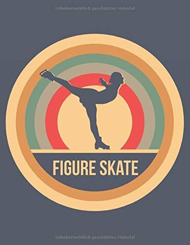 Figure Skate: Retro Vintage Eiskunstlauf Terminplaner A4 mit Wochenkalender & Monatsplaner 2020 - Geschenk für Eiskunstläufer
