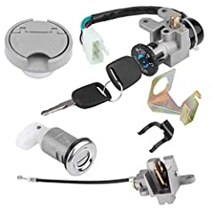 100% satisfaction service Features: 1. Ignition switch key set, 3 position switch: on/off/lock,High performance, durable in use This item fits for GY6 49cc 50cc Chinese Scooter Moped TaoTao Peace Roketa Jonway NST Tank Easy to install,but professiona...