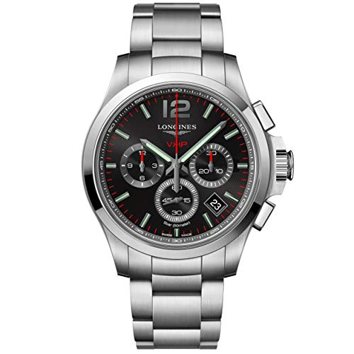 Longines orologio Conquest VHP cronografo 42mm acciaio L3.717.4.56.6