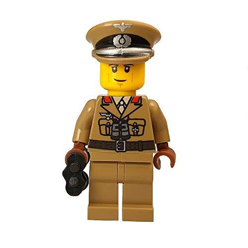 Special Brick WW2 German Afrika Korps General Custom Minifigure