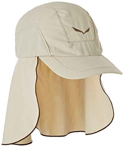 Salewa Puez (Sun Prot) Neck Gait Cap Casquette de randonnée Mixte Adulte, Sand, FR : S (Taille Fabricant : S/56)