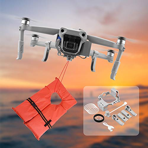 Mavic AIR 2 Airdropper Drone Payload Delivery Transport Device Search & Rescue Mount System Compatible with DJI Mavic Air 2 Drone
