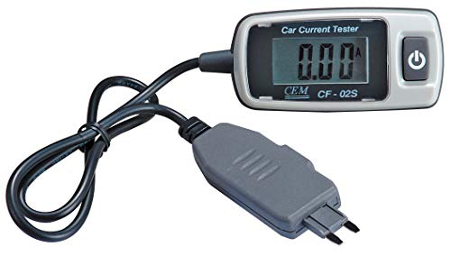 CEM CF-02S KFZ Flachsicherungstester mit LCD Display/ 48V/ 20A/ Mini-Adapter