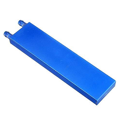 hgbygvuy for Car 40 * 160 0.5mm Blu in Lega di Alluminio Acqua Relf Block Radiatore Smooth Refiter Attrezzatura di Calore