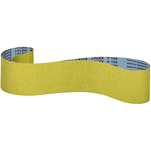 Klingspor LS 312 JF - Bandas de lija (100 x 1220 mm, grano a elegir: 220 (15 cintas)