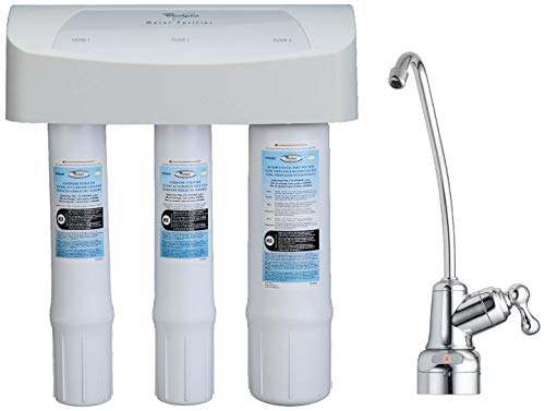 Whirlpool WHEMB40 Under Sink Water Purifier, Single Unit, White