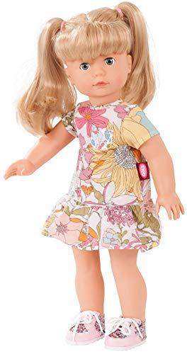 Götz 1890311 Precious Day Girls Jessica Puppe Retro Look Limited - 46 cm große Stehpuppe, Blonde Lange Haare, Blaue Schlafaugen 5-teiliges Set