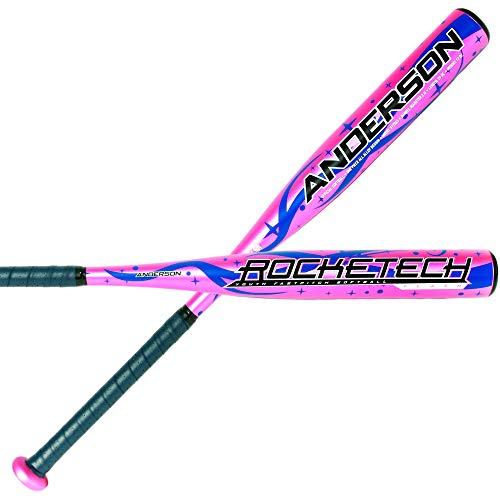 2020 Anderson Rocketech Flash -12 Youth Fastpitch Softball Bat (27 Inch / 15 oz.)