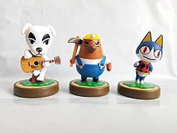 Amiibo Animal Crossing 3-Pack  K.K Slider Mr Resetti Rover  bulk pack