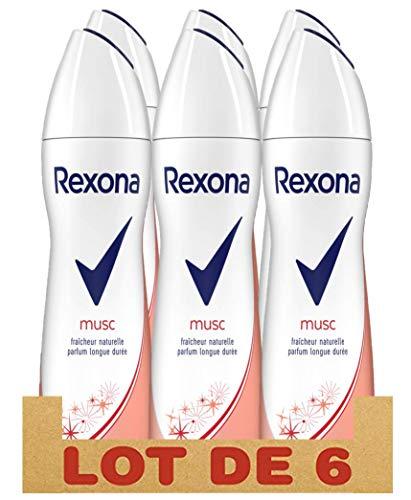 bon comparatif Déodorant Rexona Musc pour femme, spray antibactérien, fraîcheur naturelle et parfum longue durée… un avis de 2021