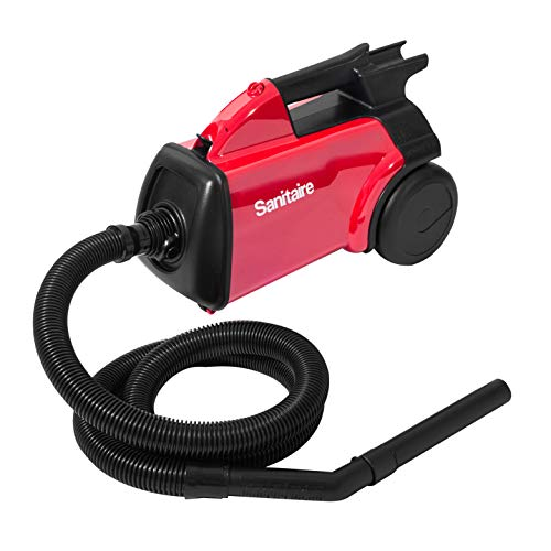 Sanitaire SC3683D Canister Vacuum, Red